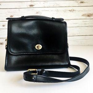 Vintage [Coach] Black Handbag